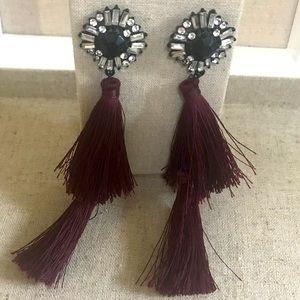 Lipsy London tassel earrings